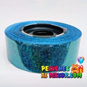 Cinta 30mm Holog Azul 25m x3 unid