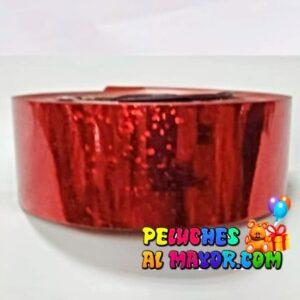 Cinta 30mm Holog Rojo 25m x3 unid