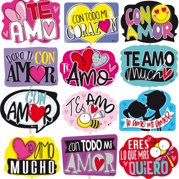 Habladores Canelo Med Amor x12u