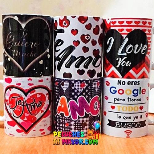 Tazas Amor Surtidas #2 x6 unid