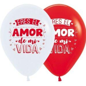 "Latex 12"" B-R Amor de mi Vida x25"