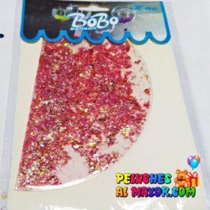 """18"""" Burbuja Rellena Estrellas Rosa Gold"""