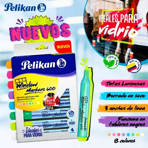 Marcadores Pelikan Window markers 600