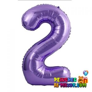 "8"" Numero Morado #2"