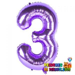 "8"" Numero Morado #3"