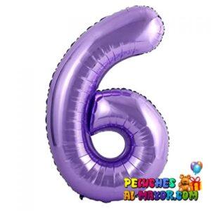 "8"" Numero Morado #6"