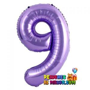 "8"" Numero Morado #9"