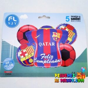 Bouquet Barcelona FC 5 Piezas