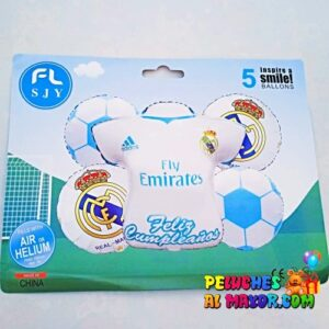 Bouquet Real Madrid 5 Piezas