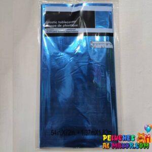 Mantel Metaliz Azul Rey