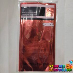 Mantel Metaliz Rojo