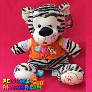 Peluche Zoo HIpopotamo Tigre Blanco