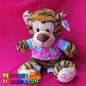 Peluche Zoo HIpopotamo Tigre Naranja