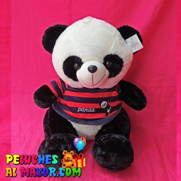 Panda Mediano camisa de rayas