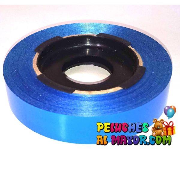 Cinta 15mm Metaliz Azul x25 mts