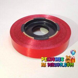 Cinta 15mm Metaliz Rojo x25 mts
