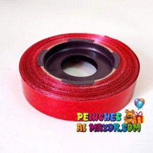 Cinta 15mm Holog Rojo 25m