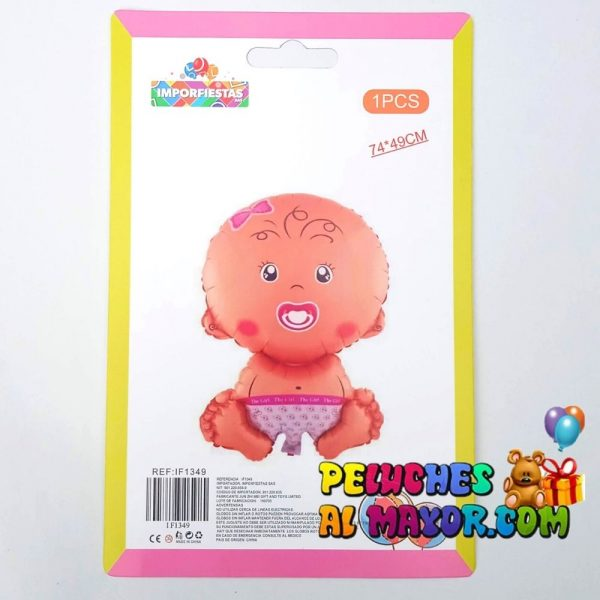 28″ Bebé Completo Hembra Blister