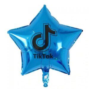 """18"""" Tik Tok Azul"""