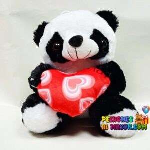 Peluche Panda Corazon