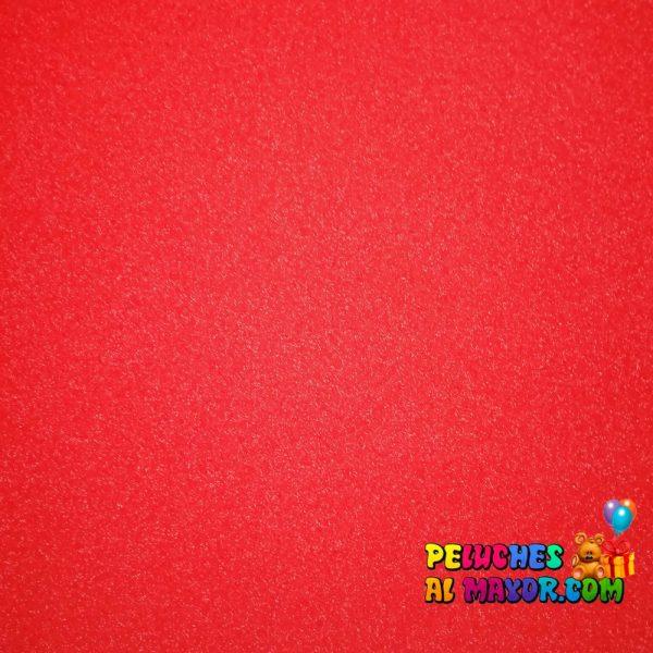Cartulina Escarchada 1/2 Pliego Rojo
