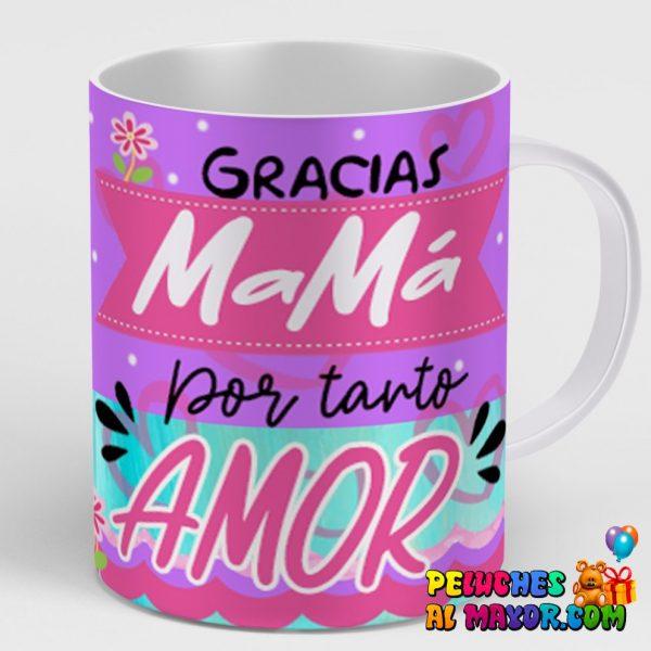 Taza Gracias X Tanto Amor