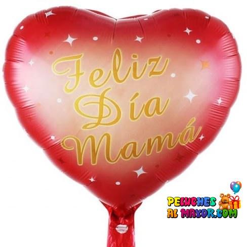 "18"" Corazon Rojo FD Mamá"