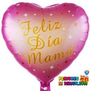 """18"""" Corazon Fucsia FD Mamá"""