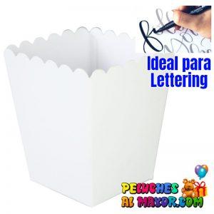 Cajas Cotuferas Pequeña x12 Blanco