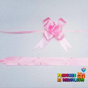 Lazo Mágico Rosado #9 X10 unid