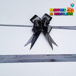 Lazo Mágico Negro #9 X10 unid
