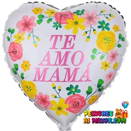 """18"""" Coraz Te Amo Mamá Flores"""