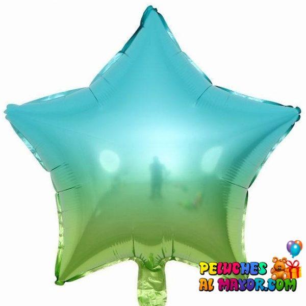 Estrela Degrade azul