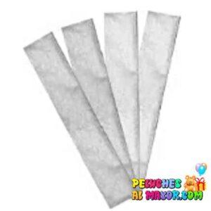 papel crepe blanco perlado