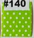 30mm Polka Verde Claro