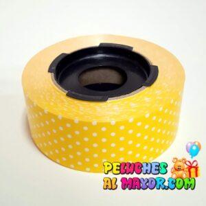 Cinta 30mm Polka Amarillo 25m