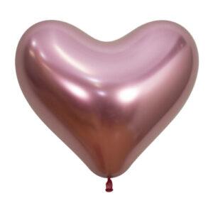 R14 Sempertex Reflex Corazón Rosado x50u