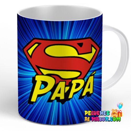 """Taza padre """"Superpapá"""""""