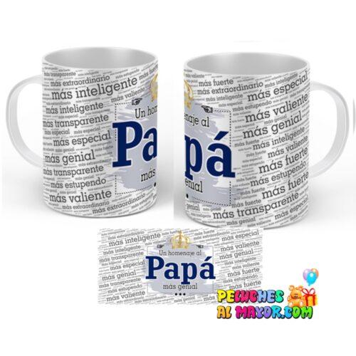 "Taza padre ""Homenaje al papa"""