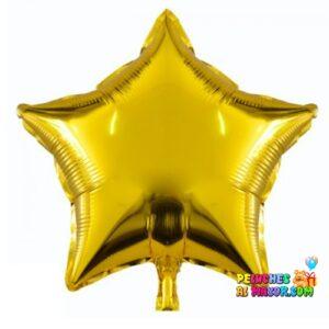 Estrellas metalizada dorado