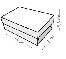 Cajas CTB Camisera Mediana x 8u