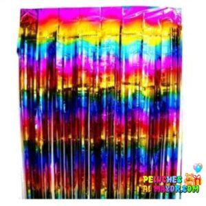 Cortinas Metalizada Multicolor