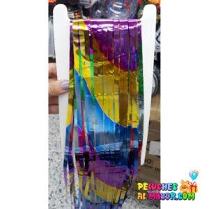 Cortinas Metalica Multicolor ZigZag