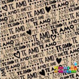 Papel de Regalo amor x20 und