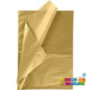 Papel seda Dorado x10 pligos