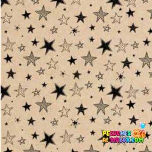 Papel de Regalo Estrellas x20 und