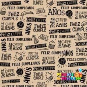 Papel de Regalo Feliz cumpleaños 2 x20 und