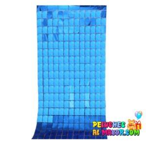Cortinas Cuadros holograficos Azul