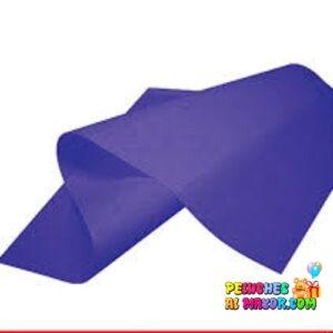 Papel Zepellin Seda Azul turquesa