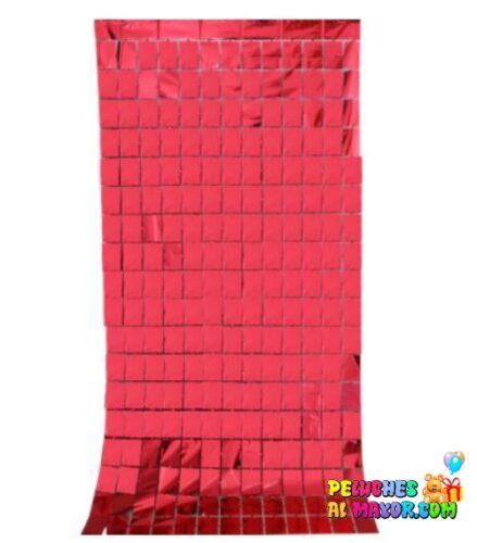 Cortinas Cuadros holograficos Rojo
